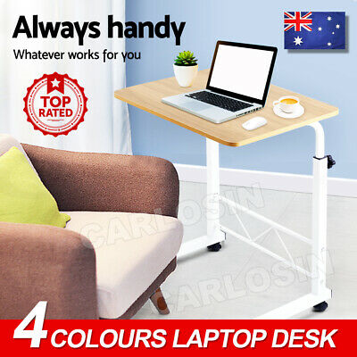 Artiss Laptop Desk Table Stand Mobile Adjustable Portable Wooden Bed Side Sofa
