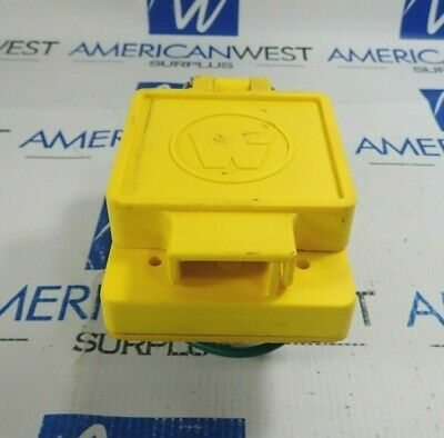 Woodhead 69W47 Watertite Flip Lid Female Receptacle 30A 125V *Missing*