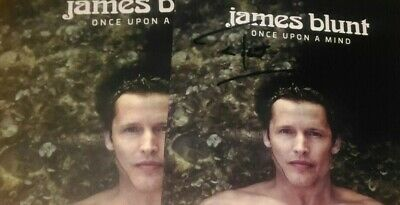 James Blunt - Once Upon A Mind *SIGNED / AUTOGRAPHED*  CD NEW IN SHRINK WRAP