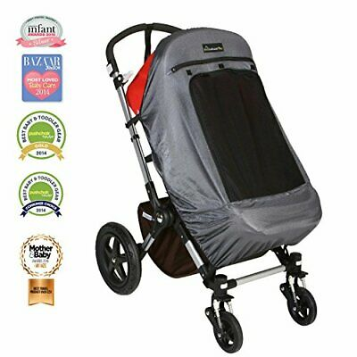 Snoozeshade Plus Deluxe Sunshade and Baby Sleep Aid for Single