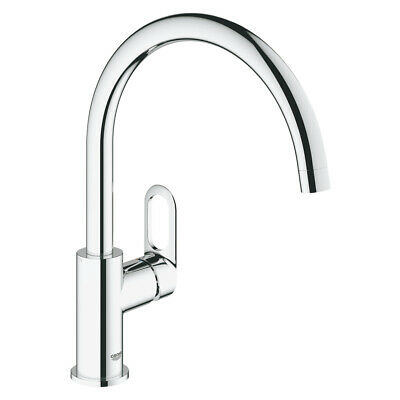 💙 GROHE® START LOOP Single-lever sink mixer 1/2″ Chrome