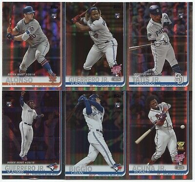 2019 Topps Update Series RAINBOW FOIL  (YOU Pick  or CHOOSE Your Player)