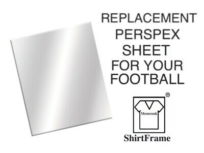FRAME FOR SIGNED FOOTBALL SHIRT PERSPEX REPLACEMENT 600x798