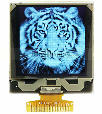 """White 1.5"""" inch Grayscale OLED Display Panel 128x128 I2C Serial SPI  SSD1327"""