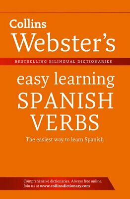 Webster's Easy Learning Spanish Verbs (Collins Easy Learning S... Paperback Book