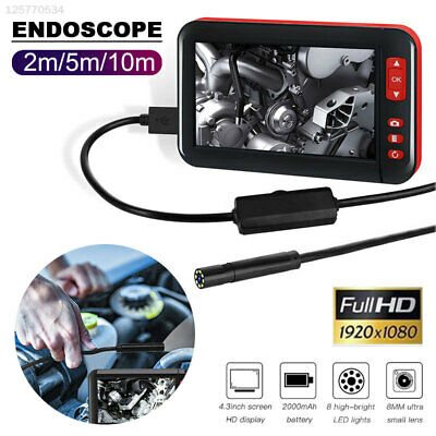 0612 F200 Endoscope Photos Inspection Portable Ear Spoon Borescope