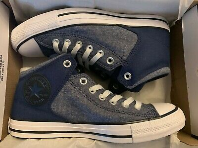CONVERSE CT ALL Star Hi Street Navy BlueWhiteBlack 164712F