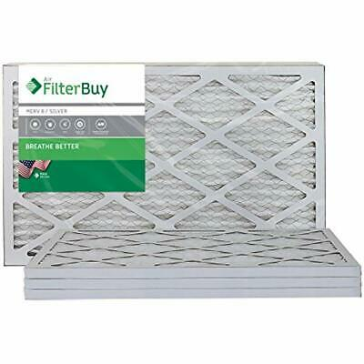 AFB Furnace Filters MERV 8 16x20x1 Pleated AC Air Filter, (Pack Of 4 Filters), -