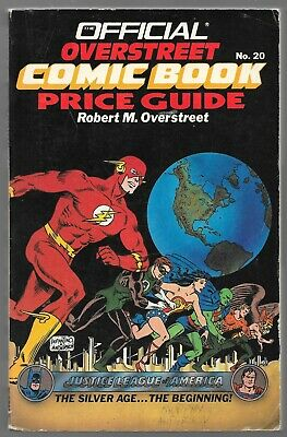 1990 Overstreet Comic Book Price Guide #20 Signed by Murphy Anderson The Flash
