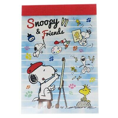 Peanuts Snoopy Memo Note Paper Stationery kawaii cute gift Writing Special Sale