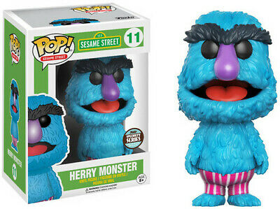 Herry Monster| - Funko Pop! Sesame Street (Toy Used)