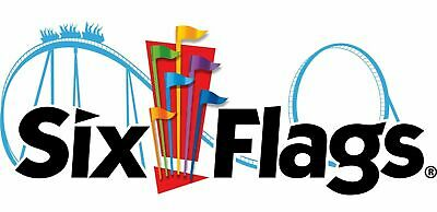 (4) Six Flags Tickets 1-Day General Admission eTickets to Any U.S Six Flags