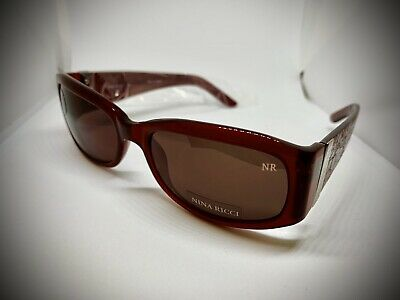 Nina Ricci Women's Polarized Sunglass Rose Red New Made In France, Style NR3172