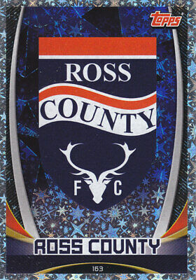 TOPPS MATCH ATTAX SPFL 2019-20 - Club Badge - Ross County - # 163