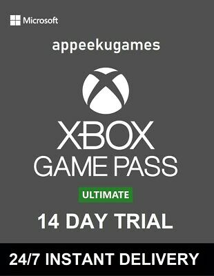 Xbox Live 14 Day Gold + Game Pass Ultimate Trial Code Instant Dispatch 24/7