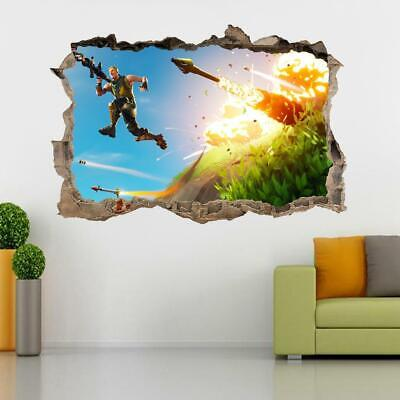 Masters Of The Universe 3D Smashed Wall Sticker Decal Home Decor Art Mural J1212