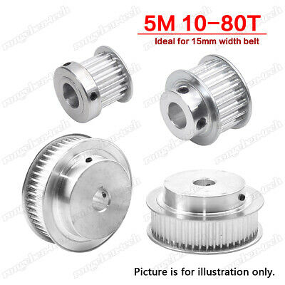 """XL64T Synchronous Wheel Timing Belt Drive Pulley Pitch 1//5/""""  For 10mm Width Belt"""
