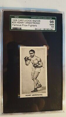 CARTLEDGE-FAMOUS PRIZE FIGHTERS BOXING MATT WHITE PRINT DON MCCORKINDALE -#33