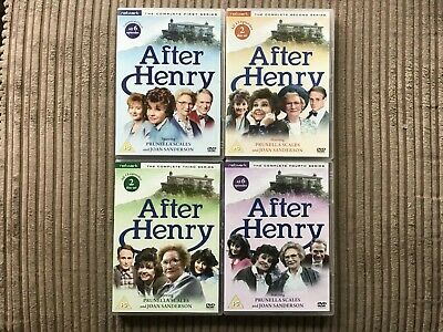After Henry The Complete Series 1-4 Dvd Set Network Prunella Scales