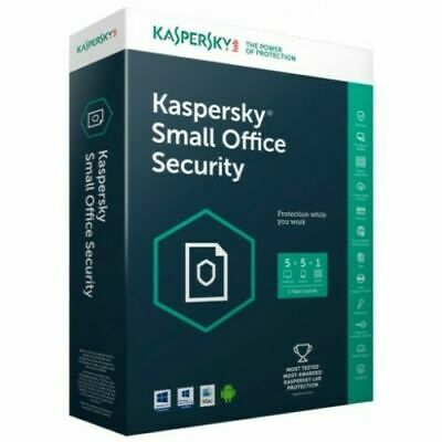 Kaspersky Small Office Security 2019 2020 5 PC Device + 1 File Server GLOBAL