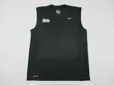 Nike Butler Bulldogs - Men's Black Compression  Sleeveless Shirt (L) - Used