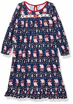 Peppa Pig Toddler Girls'  Flannel Nightgown