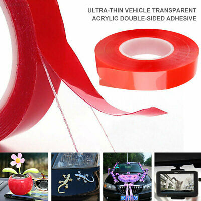 Transparent Color Double Sided Tape Paste Install High Temperature Resistance