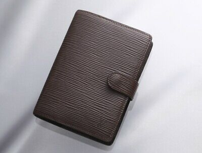 H7336M Authentic Louis Vuitton Epi Agenda Notebook Cover PM