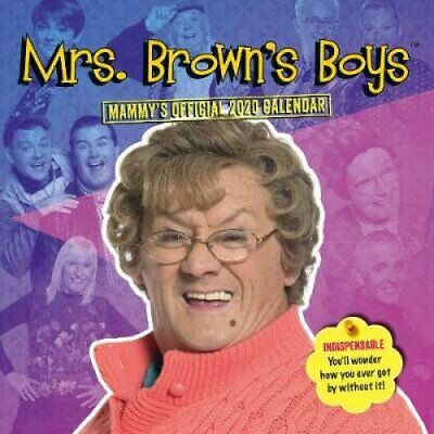 Mrs Brown's Boys 2020 Calendar - Official Square Wall Format Ca... 9781838540739