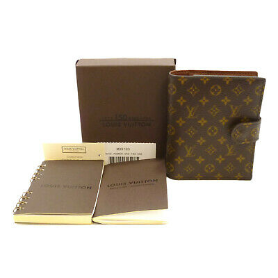 Auth LOUIS VUITTON Mini Agenda 150th Day Planner Cover Monogram M99193 #S310107