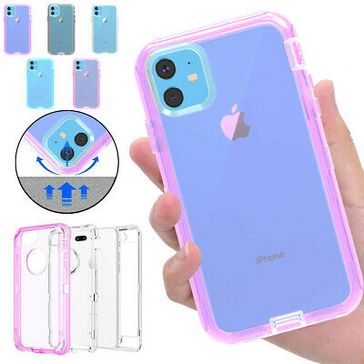 Hybrid Heavy Duty Shockproof Case For iPhone 11 Pro XI Max X XR XS 6s 7 8 Plus