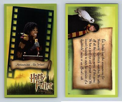 Announcing.. #3 Harry Potter & The Sorcerer's Stone 2001 WOTC Holofoil Card