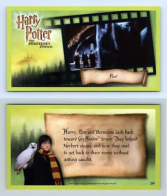 Flee #50 Harry Potter & The Sorcerer's Stone 2001 WOTC Trading Card