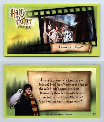 Introducing ..Hagrid #27 Harry Potter & The Sorcerer's Stone 2001 WOTC Card
