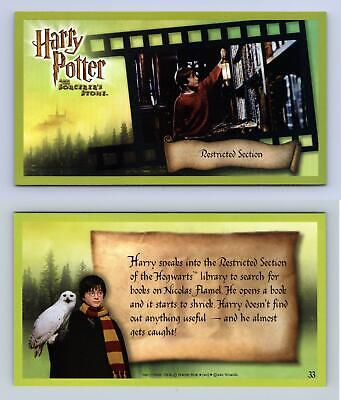 Restricted .. #33 Harry Potter & The Sorcerer's Stone 2001 WOTC Holofoil Card