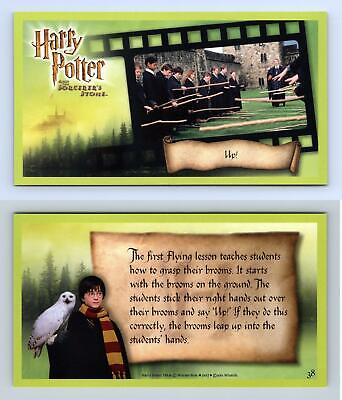 Up #38 Harry Potter & The Sorcerer's Stone 2001 WOTC Trading Card