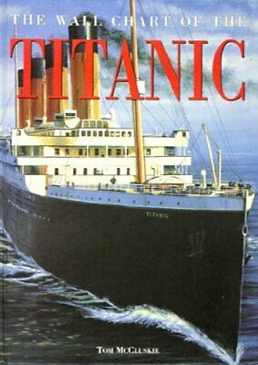 Wallchart of the Titanic by McCluskie, Tom Poster Book The Cheap Fast Free Post