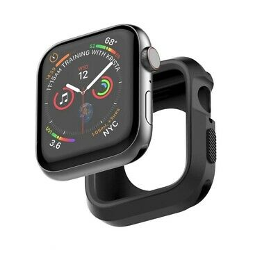 2 Tone Armor Rugged Series 5 Protective Gel Bumper Case Cover For Apple iWatch