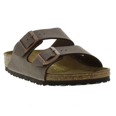 Birkenstock Arizona Regular Fit Mens Womens Mocca Brown Sandals Size 4.5-13