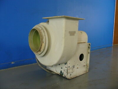 FIBERGLASS MAKE UP AIR FAN 1hp 3ph Corrosion & Fire Resistant EXTERIOR MOUNTED