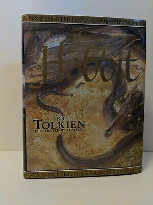 JRR Tolkien The Hobbit Hardback Book Illustrated by Alan Lee 1997