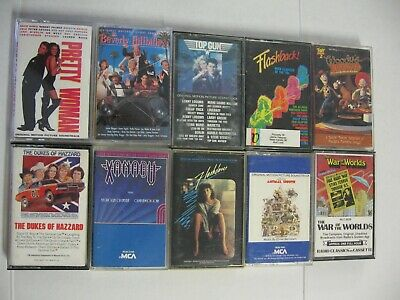 $5 Music Motion Picture Soundtrack - Rock -Pop Music 70s-80s-90s Cassette Tapes