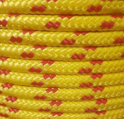 10 mm 20 Meters Polypropylene Braided Poly Rope Boat,Camping,Yacht,Sailing