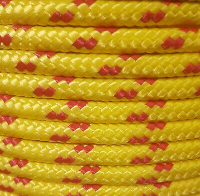 10 mm 30 Meters Polypropylene Braided Poly Rope Boat,Camping,Yacht,Sailing