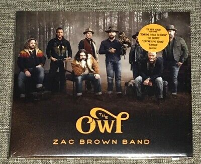 Zac Brown Band The Owl CD Album 2019 Physical Factory Sealed NEW READY SHIP FREE