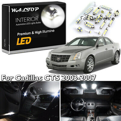 16x Purple Interior Map LED Light Package Kit for 2008-2013 Cadillac CTS CTS-V