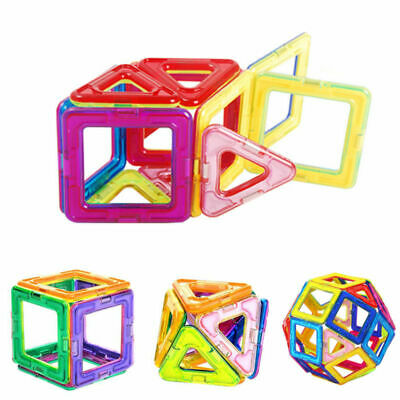 Large Magnetic Building Block Toy Set - Magnet Toys to Develop Kid's Creativity