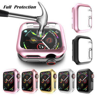 For Apple Watch Series 5 4 40/44mm Full Body Cover Snap-on Case Screen Protector