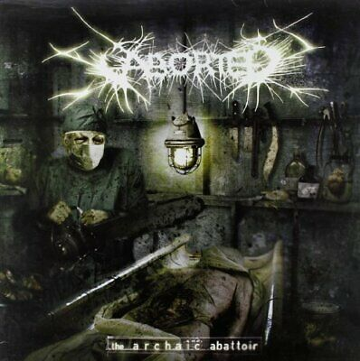 Aborted - The Archaic Abattoir - Aborted CD 5IVG The Cheap Fast Free Post The