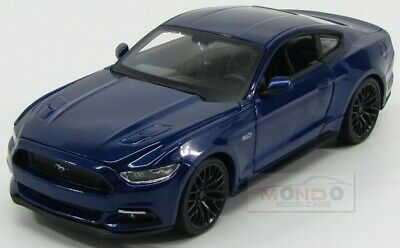 Ford Usa Mustang Coupe 5.0 Gt 2015 Blue Met Maisto 1:24 MI31508BL Model